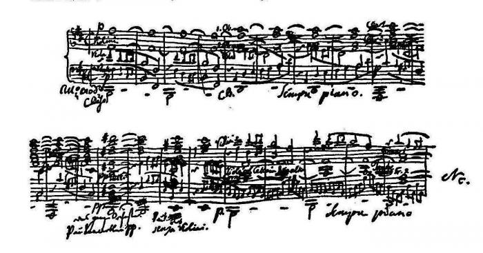 Extract from the Hebrides Overture