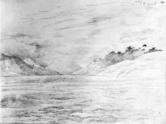 Loch Lomond 12 August 1829