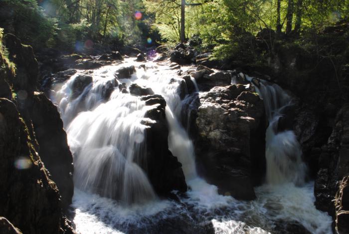 Falls of Braan, near Dunkeld