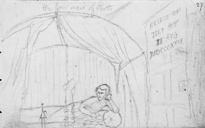 Bridge of Tilt hotel, Blair Atholl, 1829
