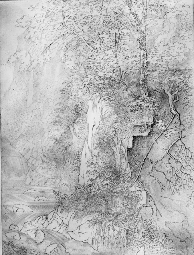 Falls of Moness 4 August 1829