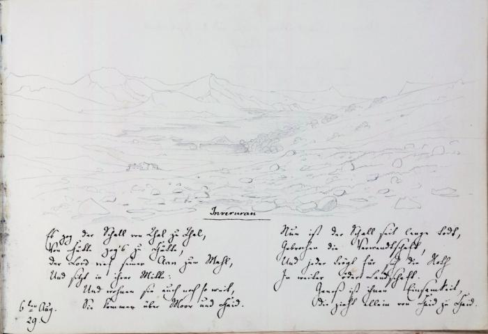 """""""Inveruran"""" 6 August 1829"""